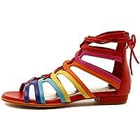 Django & Juliette Odessa Womens Flat Sandals Summer Sandals