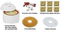 Nesco FD-1040 1000-watt Gardenmaster Food Dehydrator (6 Tray Value Package) by Nesco