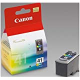 Canon Tri-Colour Ink Cartridges 3 Piece Set, Yellow/Cyan/Magenta, 23889