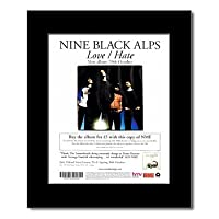 NINE BLACK ALPS - Love/Hate Mini Poster - 31.8x28cm