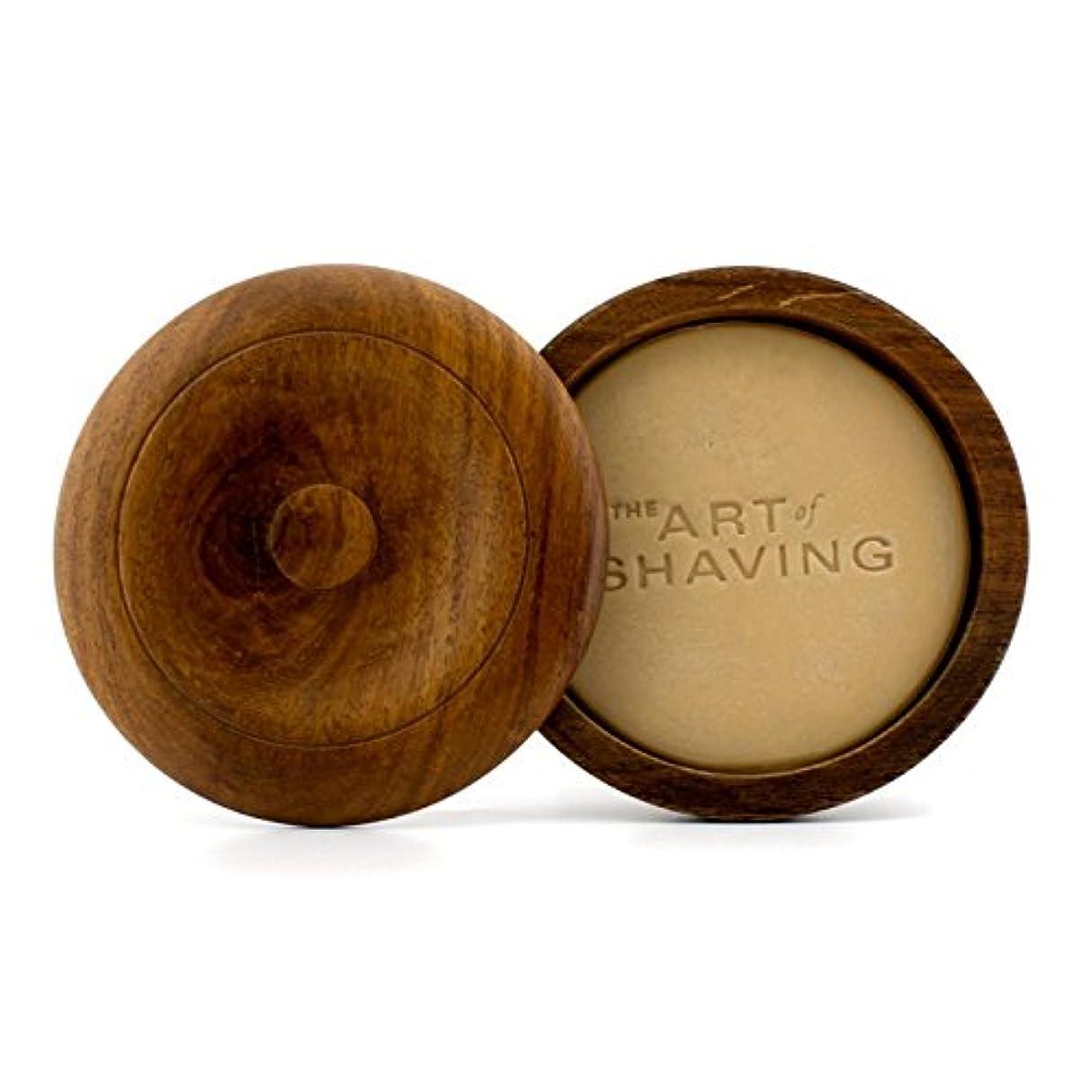 講義リング乱気流アートオブシェービング シェービングソープ ケース付 -無香 (敏感肌用) 95g/3.4oz並行輸入品