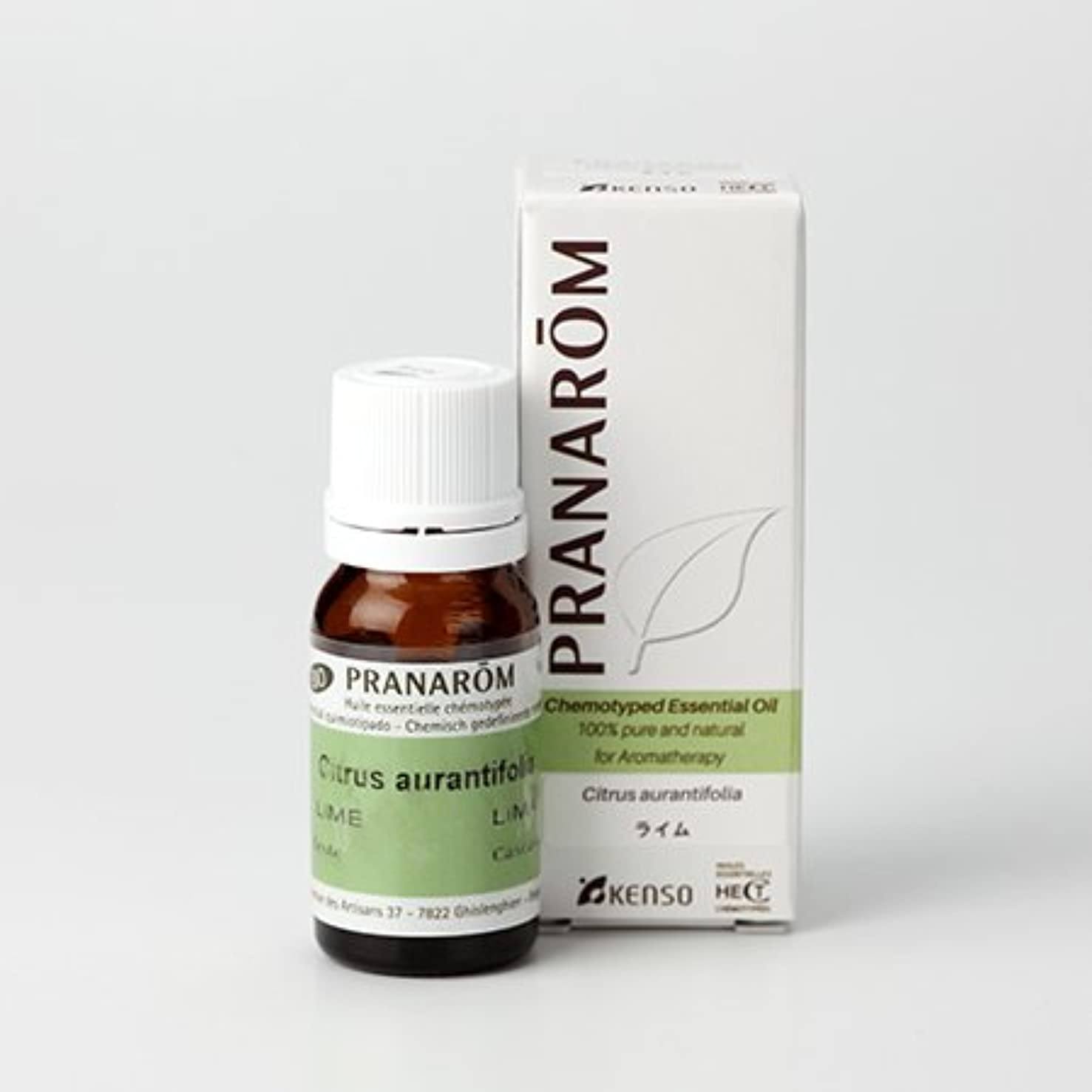 台風忘れっぽいドレインプラナロム ( PRANAROM ) 精油 ライム 10ml p-41