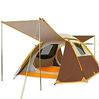 キャンプテント、3〜4人自動二階建て家族の防雨屋外テント