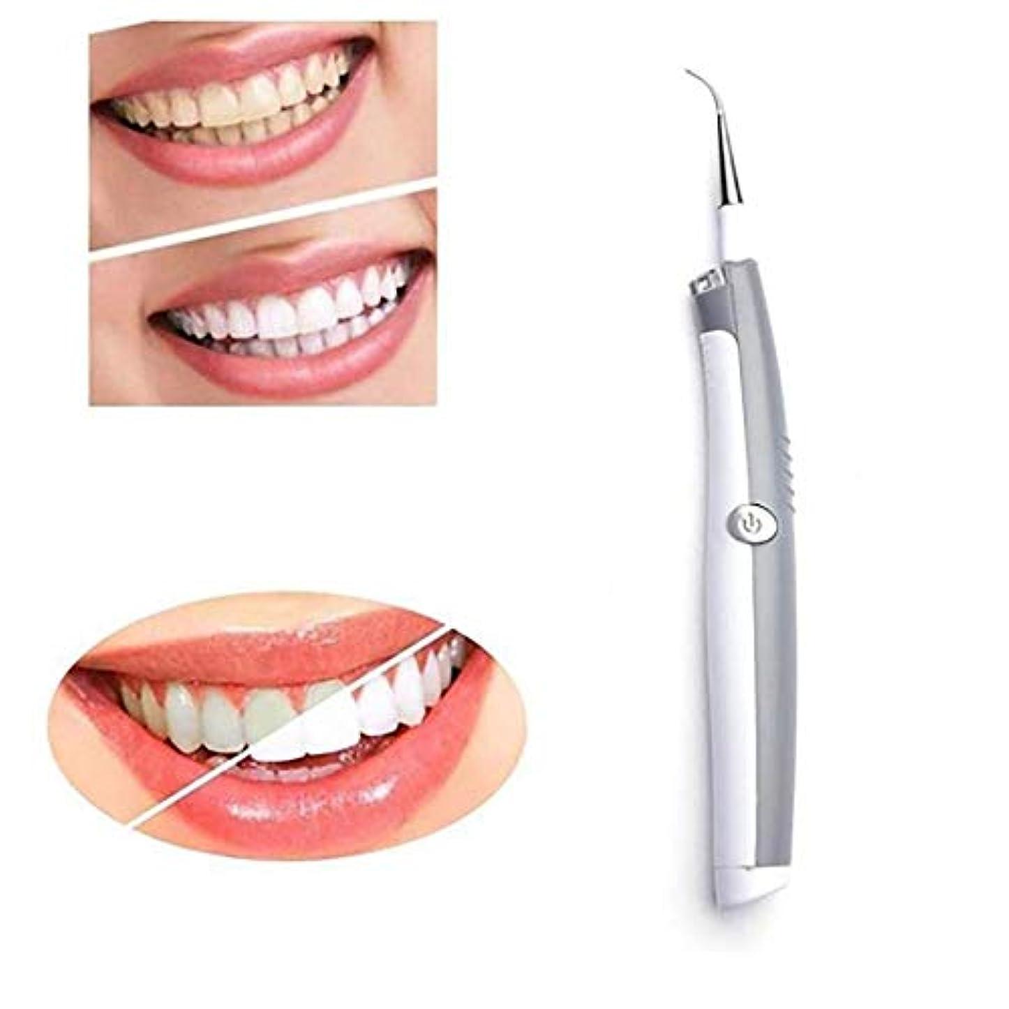 影響する感じ入場LEDライト付き電動歯クリーナーエレクトリック歯石の除去ホワイトニング歯科クリーニングツール