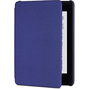 Amazon Kindle Paperwhite (第10世代) 用レザーカバー インディゴパープル