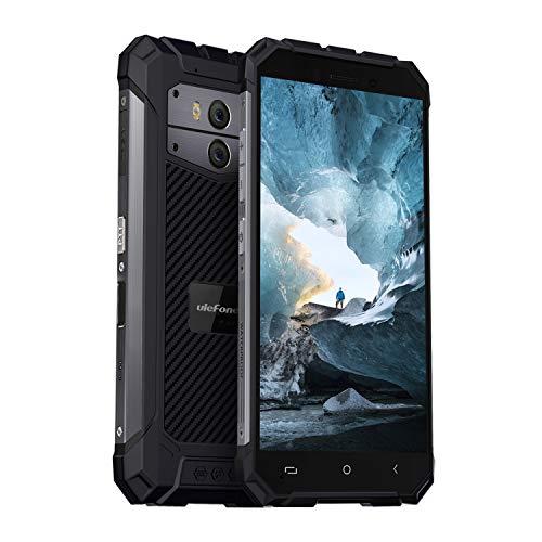 Ulefone Armor x2 simフリースマートフォン IP68 防水 防塵 耐衝撃 5500mAh Android 8.1 5.5インチsimフリー アウトドア スマホ本体 後部13MP+5MPデュアルカメラ 8MPフロントカメラ 2GB RAM+16GB ROM(128GBまでTFカッドをサポートする) デュアルsim(ナノ) 3Gバンド対応 指紋認証 顔認証 NFC Google Pay Qi対応不可 一年保証 au不可(グレー)