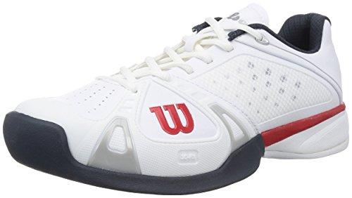 [해외] WILSON 맨즈- (SIZE:8.5 D(M) US|COLOR:WHITE/RED/COAL)
