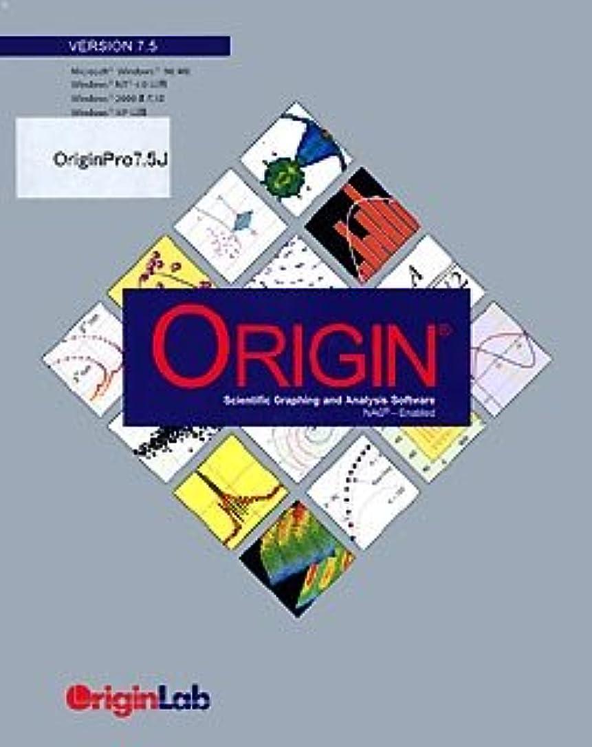 舌湾吸収Origin Pro 7.5J