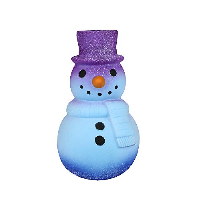 Archangel Smile 16cm スクイッシー ギャラクシー 雪だるま ゆっくり元に戻る アニメ クリームの香り ストレス解消おもちゃ Size: 16x9cm/6.3''X3.45'' L