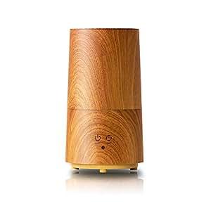 PRISMATE(プリズメイト) アロマ超音波式加湿器 Tall -wood-(トール-ウッド) BBH-61W (OPN(オールドプレーン))