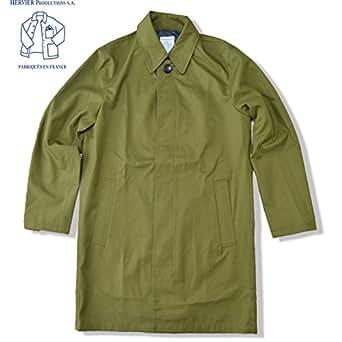 [エルヴィエ プロダクションズ]HERVIER PRODUCTIONS S.A. フレンチ エアフォース コート French Airforce Coat ステンカラーコート オリーブグリーン SIZE 2
