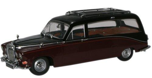 OXFORD 1/43 デイムラー DS420 霊柩車 ブラック/クラーク