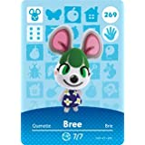 Bree - Nintendo Animal Crossing Happy Home Designer Amiibo Card - 269 by Nintendo [並行輸入品]