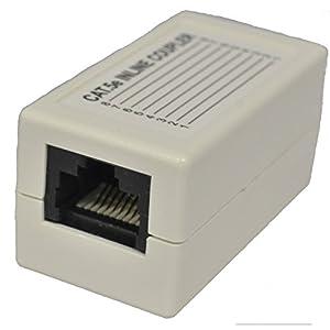 アクロス Gbit対応LAN延長アダプタ RJ45メス-RJ45メス ALA615