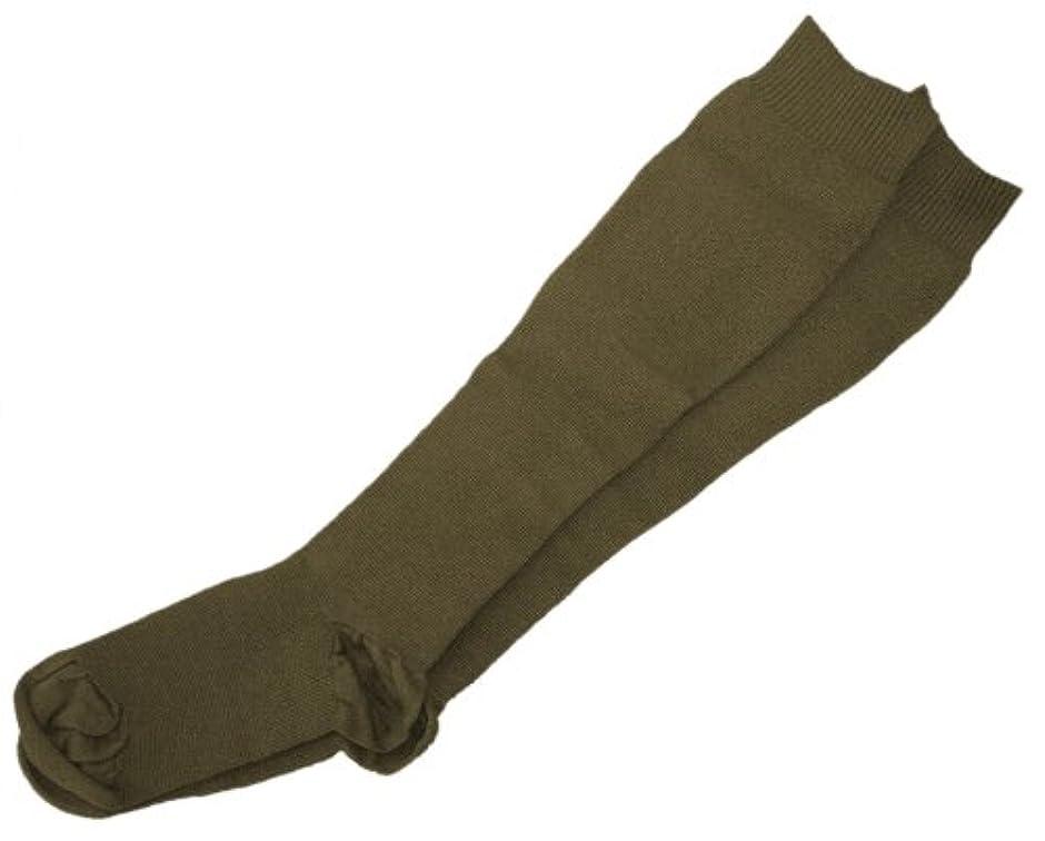 後方にキャンドル変更ギロファ スタンダードソックス ブラウン Sサイズ(22.0~23.5cm)