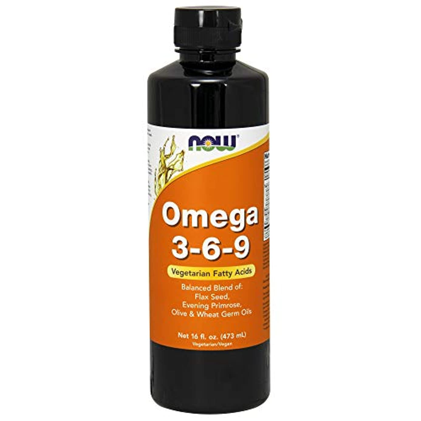 柔らかさ不注意まぶしさ[海外直送品] ナウフーズ  OMEGA 3-6-9 16 OZ LIQUID
