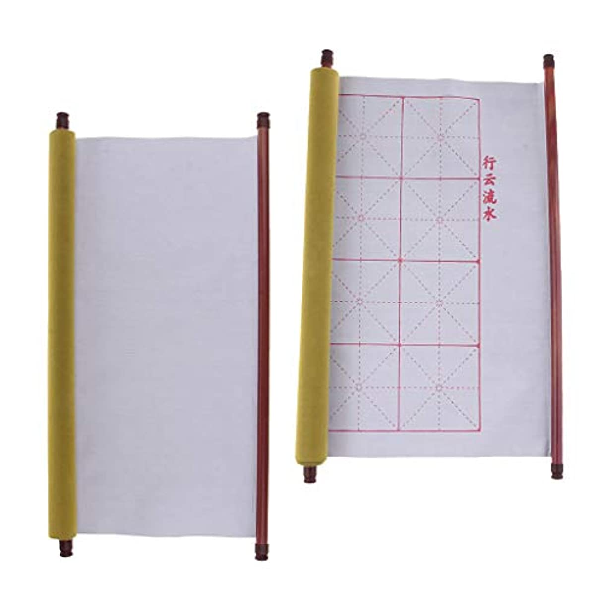 アカウントトンネルコンピューターゲームをプレイするdailymall 日中書道練習用の水筆布2パック速乾性布布紙59 X 17.7インチ