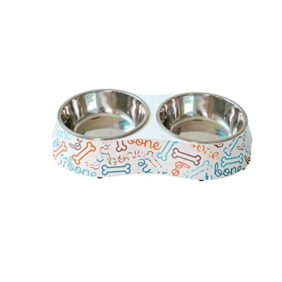 Xian キャットボウル、ドッグボウル、ドッグフィーダー、QキャットボウルVivipet斜め口フラットフェイスキャットペットキャットボウルフードボウルウォーターボウルキャットフード食べるセラミックライスボウル Easy to Clean Non-Skid Bowls for Dogs (Color : Bones, Size : Small)