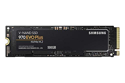 サムスン SSD 500GB 970 EVO Plus M.2 Type2280 PCIe3.0×4 NVMe1.3 (MZ-V7S500BW) [並行輸入品]