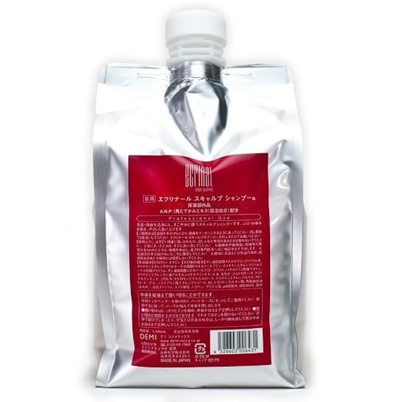 部屋を掃除する読みやすさリーチデミコスメティクス エクリナール スキャルプシャンプー 1100ml (医薬部外品)
