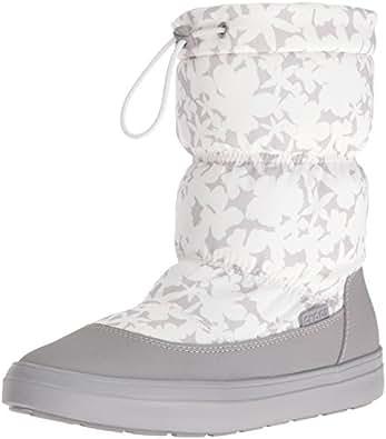 crocs レディース LodgePoint Pull-on Boot カラー: ホワイト