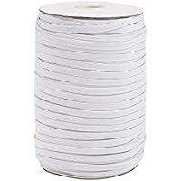 Zandreal 3mm Elastic Cord Heavy Stretch String Braided Band Rope 200 Yard Sewing Spool for Jewellery Making