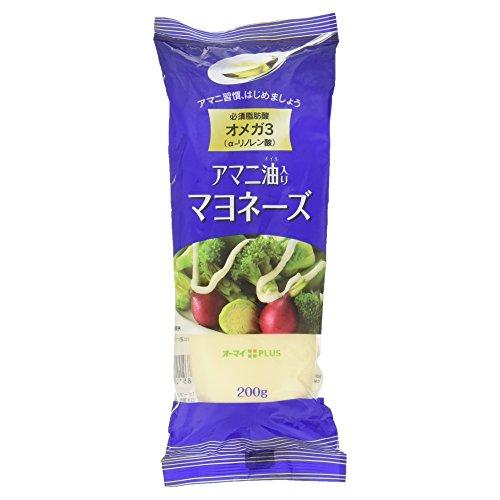 日本製粉 オーマイ アマニ油入りマヨネーズ 200g