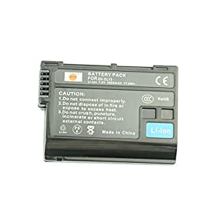 DSTE® アクセサリ Nikon EN-EL15 互換 カメラ バッテリー  対応機種 1 V1 D600 D800 D810A D750 D7000 D7100 D610 D7200