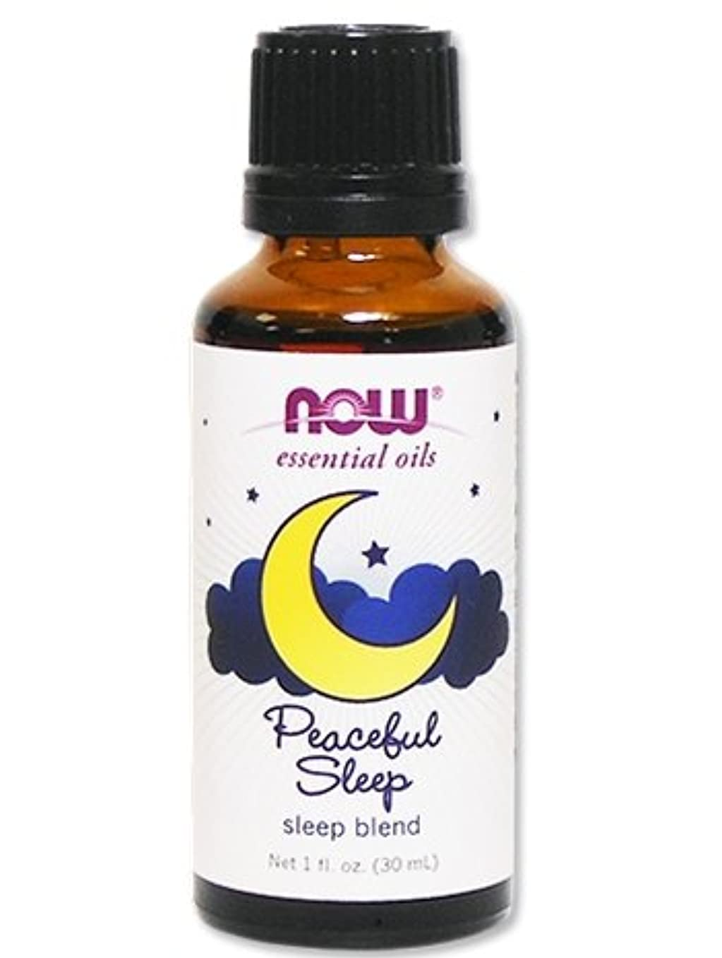 ドナー利得上院Now Foods Peaceful Sleep Oil Blend 1 OZ 1oz [並行輸入品]