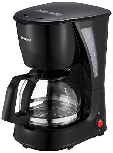 アイリスオーヤマ コーヒーメーカー ブラック (CMK-650P-B) 600ml