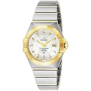 [オメガ]OMEGA 腕時計 コンステレーション ホワイトパール文字盤 コーアクシャル自動巻 裏蓋スケルトン 123.20.31.20.05.002 レディース 【並行輸入品】