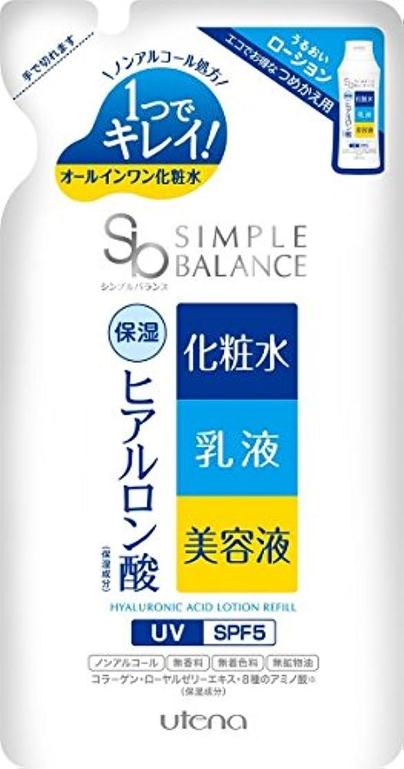 日常的に多分活性化SIMPLE BALANCE(シンプルバランス) うるおいローション (つめかえ用) 200mL
