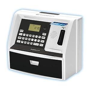 しゃべるATM型貯金箱 マイATMバンク (ATM型多機能貯金箱) KK-00383 (ブラック)