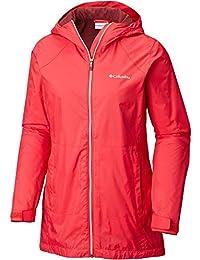 (コロンビア) Columbia レディース アウター レインコート Columbia Switchback Lined Long Rain Jacket [並行輸入品]