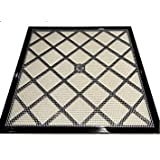 """Excalibur 14"""" x 14"""" Polyscreen Mesh Tray Screen Inserts for 5 and 9 Tray Excalibur Dehydrators (5 Pack)"""