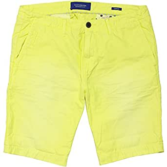 【スコッチ&ソーダ】THEON CHINO SHORTS GARMENT DYE LEMON W34 チノショーツ SCOTCH&SODA