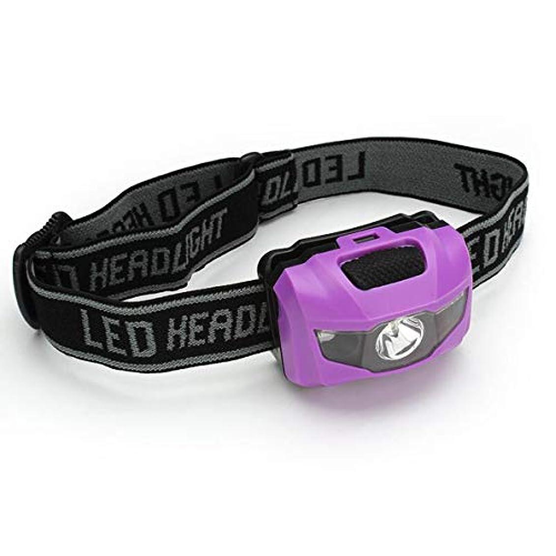 絶え間ないトーク気づかないLEDヘッドライトヘッドライトアウトドアキャンプハイキング夜間ライト