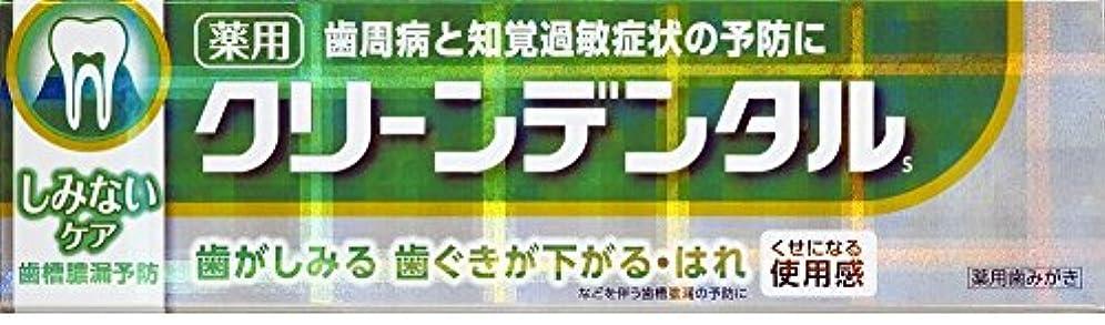 【2個セット】第一三共ヘルスケア クリーンデンタルSしみないケア 100g [医薬部外品]