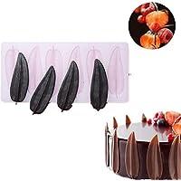 チョコレート金型 3D DIY ケーキ金型 葉 安全 シリコン フォンダンケーキ金型 キャンディ金型 ホームベーキング ツール 再利用