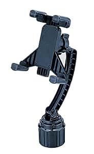 カーメイト 車用 タブレットホルダー 純正カップホルダー用 ブラック ME42