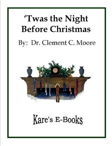 Twas the Night Before Christmas (Kare`s E-Books Book 3) (English Edition)