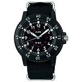 [セイコーウォッチ] 腕時計 アルバ スポーツ 日常生活用強化防水(10気圧)回転ベゼル付き AQPK416 ブラック