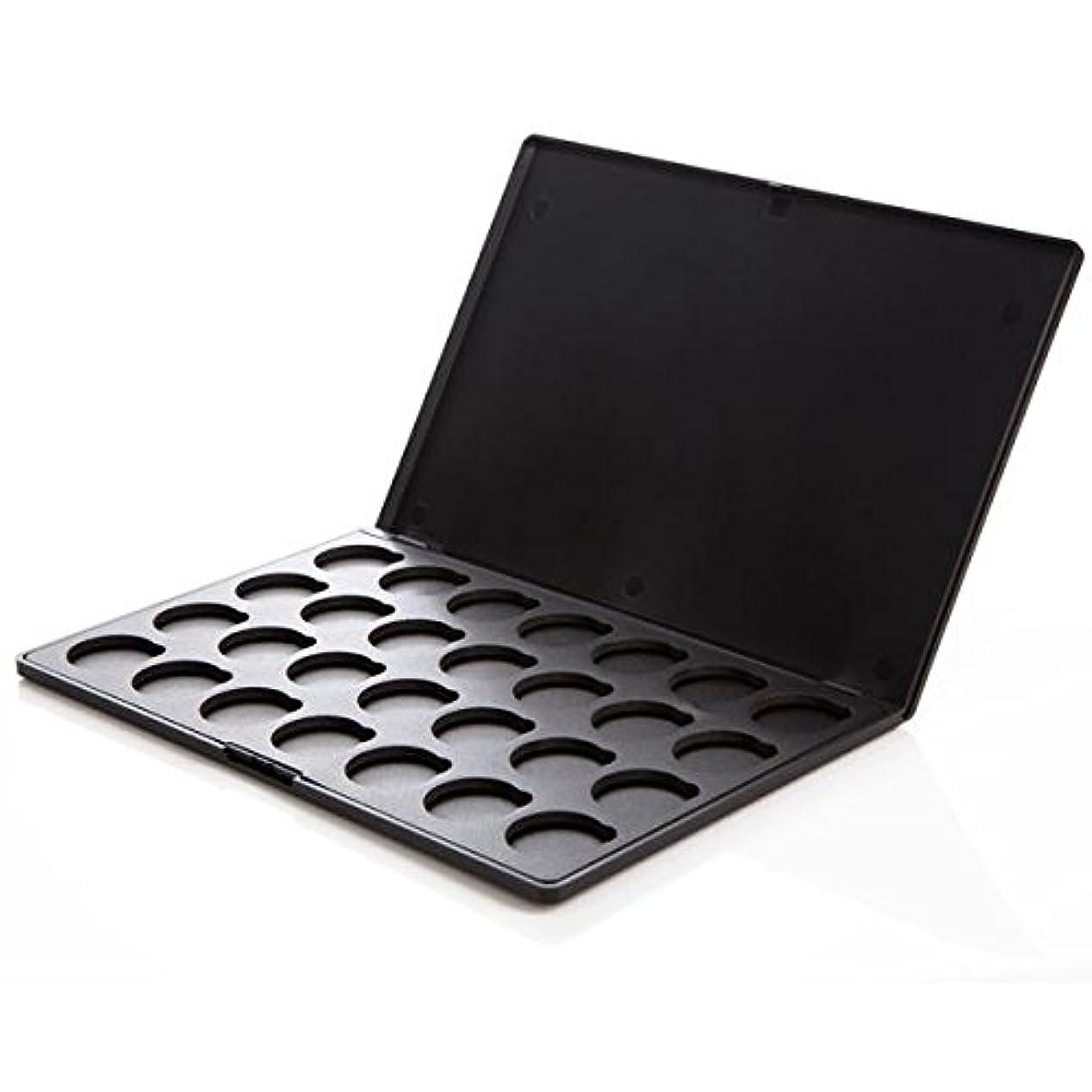 肺増幅する公然とカスタム化粧パレットケース (アイシャドウケース) | コースタルセンツ 正規品 (28色用 ブラック)