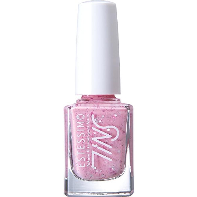 欲しいです桁すぐにTiNS カラー 802 コットンキャンディスムージー 11ml 2015年春の限定色「Sugarsprinkles! 」シリーズ カラーポリッシュ