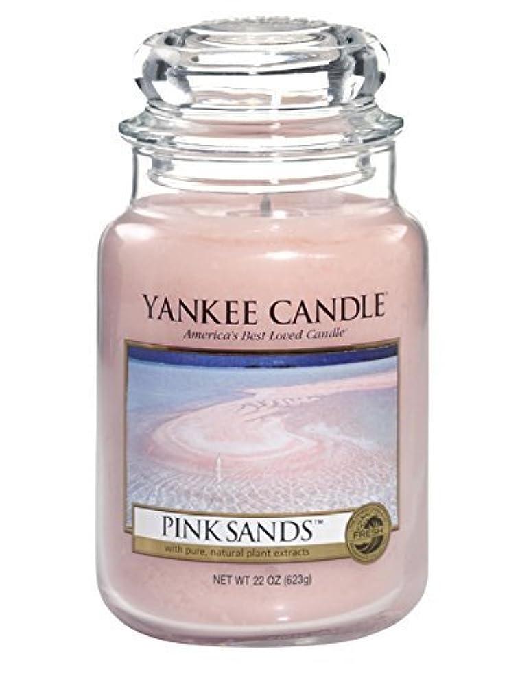 しつけ無許可ぶら下がるYankee Candle Pink Sands Large Jar 22oz Candle by Amazon source [並行輸入品]