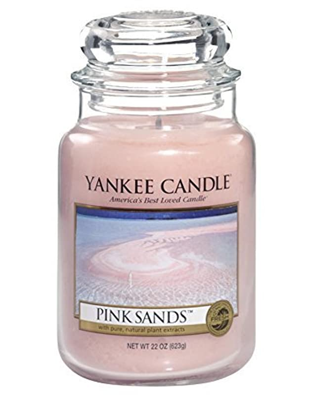 バズ調整シャイYankee Candle Pink Sands Large Jar 22oz Candle by Amazon source [並行輸入品]