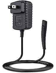 Punasi Braunシェーバー対応 ブラウン髭剃り 6V 0.6A電源コード ACアダプター DCアダプター ブラウン バリカン充電コード 充電器 HC5030 530s-4 570s-4 590cc-4 WF2s...