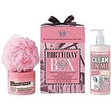石鹸&栄光の誕生日箱のギフトセット (Soap & Glory) (x2) - Soap & Glory The Birthday Box Gift Set (Pack of 2) [並行輸入品]