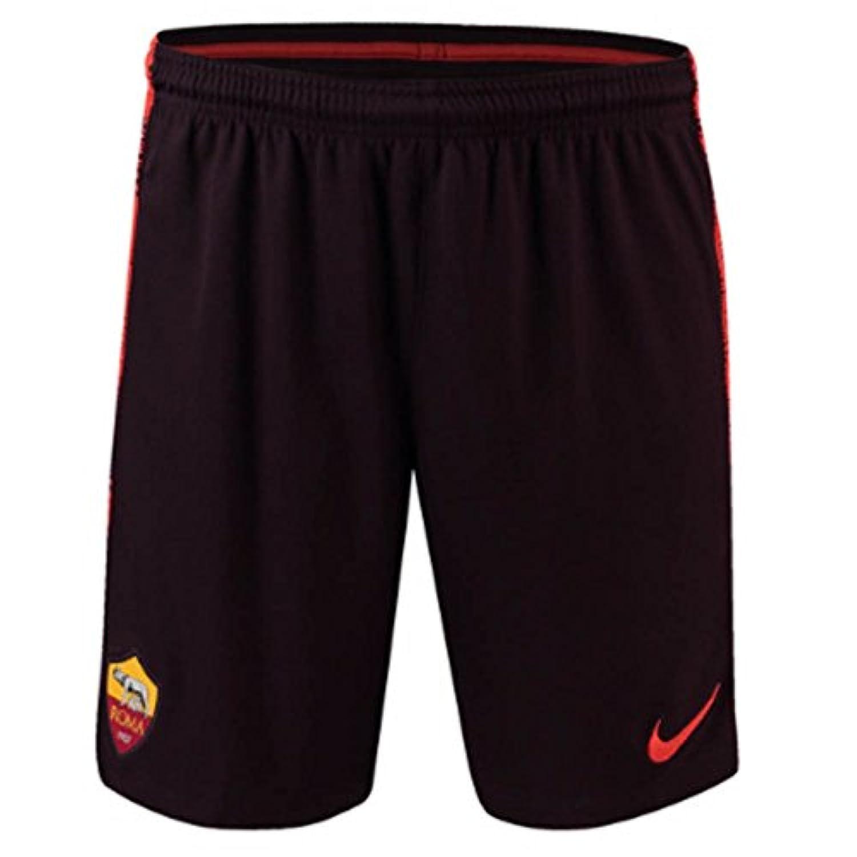 2018-2019 AS Roma Nike Squad Training Shorts (Burgundy)