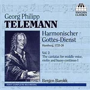 テレマン:音楽による礼拝、または一般用の教会カンタータ全集 第2集